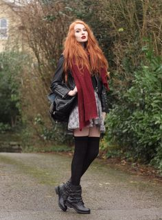 Another nice outfit by Olivia Emily featuring her ASH Tempt.  Also available with shoelaces! Shop now ASH REBEL: http://www.ashfootwear.co.uk/search/rebel