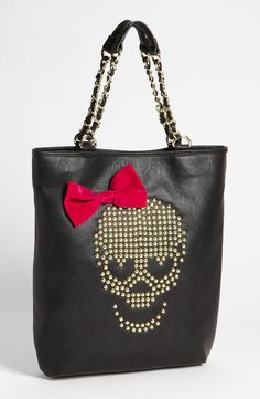 Betsey Johnson skull bag. I have this and its an awesome bag. Could use a coupla pockets tho