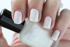 Zoya Paradise Sun Swatches Genesis White Shimmer Nail Polish #EverydayZoya