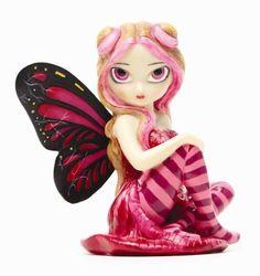 Jasmine Becket-Griffith Figurines | Pink Lightning Jasmine Becket Griffith Fairy Figurine | eBay