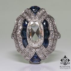 Antique Art Deco Platinum Diamond