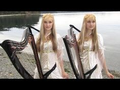 Into The West - Played On Twin Harps - http://www.gottagodoityourself.com/into-the-west-played-on-twin-harps/