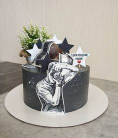 Dad Cake, 50th Cake, Fondant Cake Designs, Fondant Cake Toppers, Cake Decorating Frosting, Cake Decorating Designs, Birthday Cake For Him, Birthday Cakes For Men, Liquor Cake