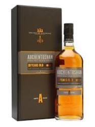AUCHENTOSHAN 21 YEAR OLD: A 21 year old single malt, triple distilled and aged in second fill sherry casks, though nothing is lost to the power of the sherry. This bottling stands as the flagship for the core Auchentoshan range.  Nose: Soft and supple. Dry grass. Fruity notes, a citrus edge and a very floral honey.  Palate: Oily, nuttiness. Dry and rounded with sugared peels.  Finish: Apricot conserve on granary toast with dry citrus notes.