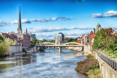 If you're daydreaming about a trip to Europe but don't have the resources to make your way overseas, there's still a way to soak up the quaint char. City Of Cambridge, Cambridge Ontario, Galt Ontario, Dream Vacations, Vacation Spots, Ontario Travel, Tower Bridge, Weekend Getaways, Small Towns