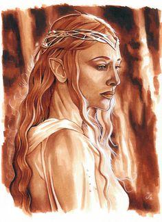 Galadriel, Lady of Lothlorien by MJasonReed on DeviantArt