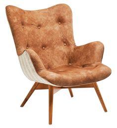 Angels Wings fauteuil Allium leder - Kare Design