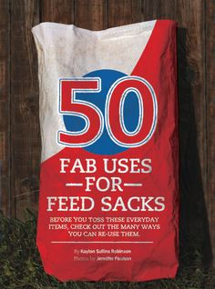 Upcycle Your Feed Sacks | Horse&Rider | Western Training - How-To - Advice