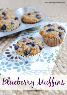 These Blueberry Muffins are lightly sweetened and bursting with flavor. They're kid friendly and would make a great breakfast or snack! @lclivingston