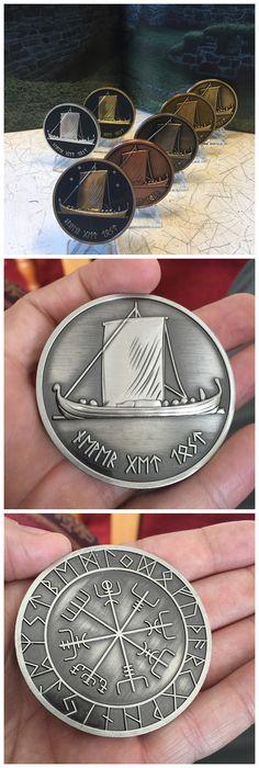 Norwegian viking geocoin. #IBGCp