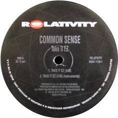 Common Sense - Take It EZ