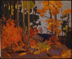 Tom Thomson Catalogue Raisonné   Autumn, Algonquin Park, Fall 1916 (1916.126)   Catalogue entry