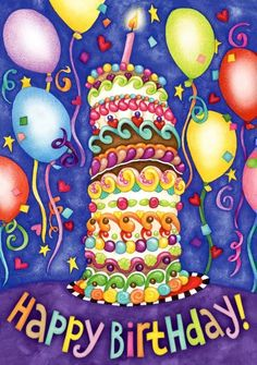 Happy Birthday Pictures - The 50 Best Birthday Pictures Happy Birthday Clip Art, Happy Birthday Pictures, Happy Birthday Messages, Happy Birthday Quotes, Happy Birthday Greetings, Birthday Sayings, Giant Birthday Cake, Birthday Flags, Birthday Balloons