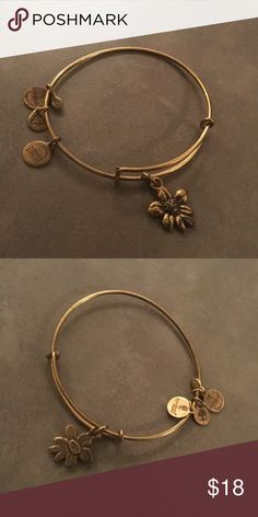 Alex and Ani Apple Blossom Gently Worn Alex & Ani Jewelry Bracelets