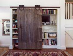 Slide Door Closet Organization Bedrooms
