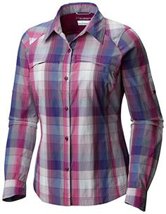 Silver Ridge Plaid Long Sleeve Shirt