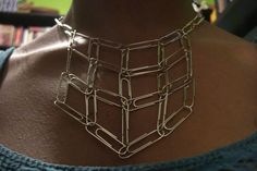 Not your average paper clip necklace... - JEWELRY AND TRINKETS