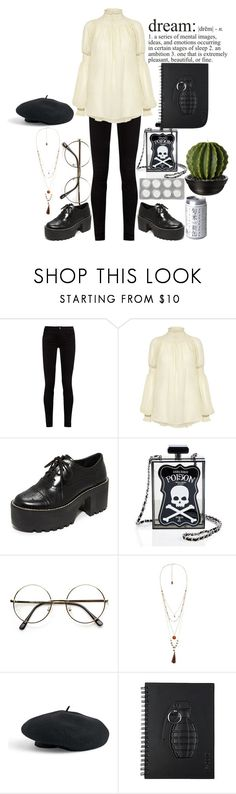 """Dreaming while I wish everything is just a lie"" by cherrysick on Polyvore featuring Gucci, Rachel Comey, Alice + Olivia, Current Mood, Violeta by Mango and Venus"