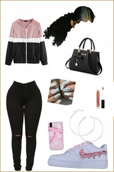 Swag Outfits For Girls, Cute Swag Outfits, Cute Comfy Outfits, Teenage Girl Outfits, Teen Fashion Outfits, Teenager Outfits, Dope Outfits, Cute Fashion, Stylish Outfits
