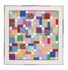 Tossed Nine Patch: Eleanor Burns Signature Quilt Pattern 735272012559 735272012559 Quilting Tips, Quilting Tutorials, Quilting Projects, Disappearing Nine Patch, Nine Patch Quilt, Charm Pack Quilts, Charm Quilt, Square Patterns, Quilt Patterns