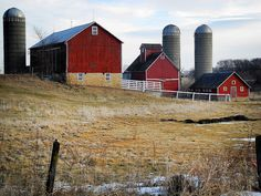 farm on Bolton Road west of Freeport, Illinois.