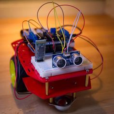 Arduino Robot ---- HEY HEY!!!  For more COOL ARDUINO stuff, check out http://arduinohq.com
