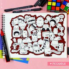 Red Doodle by PicCandle.deviantart.com on @deviantART