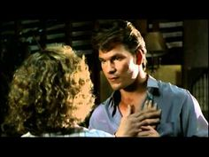 My first love, Patick Swayze, and the moment I fell in love with the song Hungry Eyes!!!