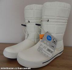 966bbf201 Prodám - CROCBAND sněhule zimní boty W6 36 37 White Navy, Most | Mimibazar .cz