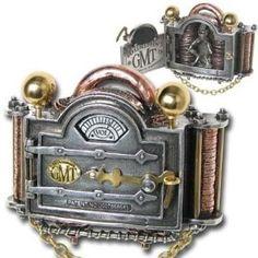 Steampunk Gauge Belt Buckle - ALCHEMY GOTHIC