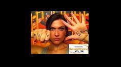 Catherine Mazoyer, apoyando la campaña No Más Bullying Faces