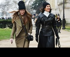 Condom Hats. Tommy Ton Shoots the Street-Style Scene at the Fall 2013 Shows