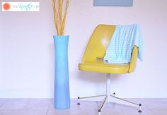 repurposed sink into ombre vase, bedroom ideas, crafts, painted furniture, repurposing upcycling