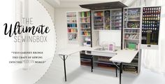 Unique furniture tailored to crafters, scrapbookers, and seamstresses that can enhance their experience and really turn up the fun in their creations.