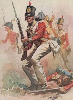 British 57th Regiment, Peninsular War. The Peninsular War was a military conflict between Napoleon's empire and the allied powers of Spain, Britain and Portugal for control of the Iberian Peninsula during the Napoleonic Wars.