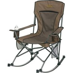 I love, love, love this chair!  A total must for camping with a toddler/ baby.