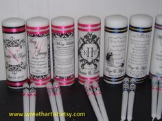Unity Candles, Memorial Candles