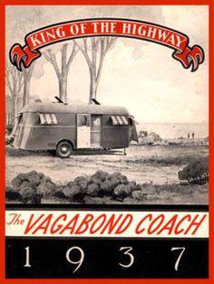 11 Meter Umbaufavorit als Jumbo-Lounge, Loft, mobil Home etc. Old Campers, Vintage Campers Trailers, Vintage Caravans, Camper Trailers, Happy Campers, Vintage Rv, Vintage Posters, Old Poster, Shasta Trailer