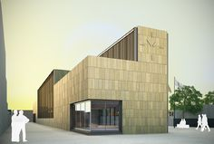 3D architecture and computer graphics of the multifunctional building project in Ivars d'Urgell, Lleida