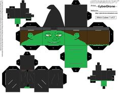 Cubee - Witch '1of2' by CyberDrone.deviantart.com on @deviantART