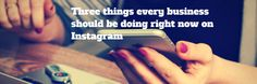 Instagram is becoming more and moreimportant as a marketing tool for businesses. Whether you have a bricks and mortar store, are a personal trainer, life Marketing Tools, Right Now, Bricks, Personal Trainer, Accounting, Posts, Store, Business, Blog