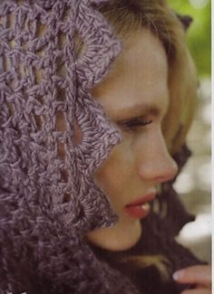 Ravelry: Dusk Scarf pattern by Sarah Barbour
