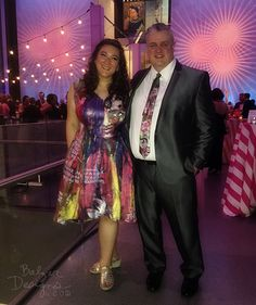 Painted Dress and Tie for the MFA Summer Party