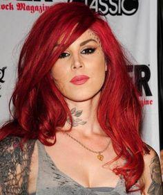 Tattoo queen Kat von D