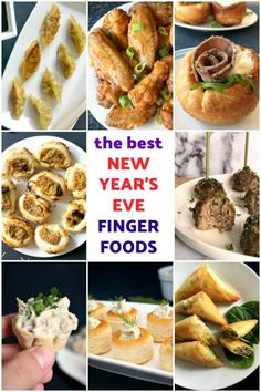 These New Year's Eve Appetizers are my absolute favourite finger food recipes that I have posted along the time, recipes that I can never have enough of; and would be a brilliant choice for the most awaited party of the year. These are appetizers for all tastes, including vegetarian options.