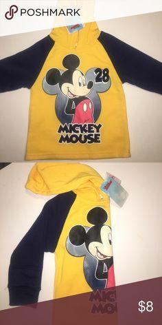 🔥MOVING SALE🔥 MICKEY MOUSE HOODIE Disney Shirts & Tops Sweatshirts & Hoodies