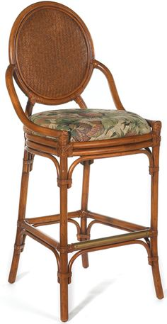 Oyster Bay Barstool From Hospitality Rattan | Treasure Cary By Pelican Reef