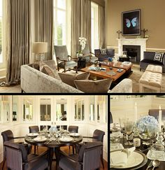London Luxury Interior Design by Lynne Hunt! Interior design ideas Best interior designers Modern living room #homedecorideas #modernsofas #luxuryinteriordesign Find more in: https://www.brabbu.com/en/inspiration-and-ideas/