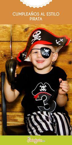 Si se acerca el cumpleaños de tu hijo y estás buscando una temática que logre cautivarle: entonces no dudes en considerar ambientar su celebración al estilo pirata. Los bucaneros busca tesoros son un divertido clásico que les encanta a los niños, así que convierte su fiesta en una aventura pirata con parches, bigotes y tatuajes con la ayuda de estos consejos. ¡Argh!