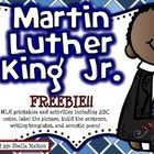 I hope you and your students enjoy this FREE Martin Luther King, Jr. activity set! These printables are perfect for morning work, stations, centers...